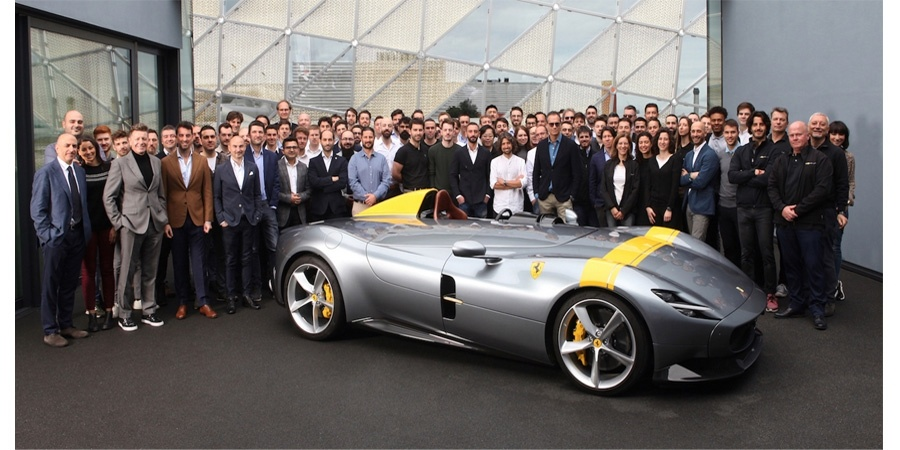 Ferrari, Red Dot Tasarım Ödülleri'nde rekor kırdı