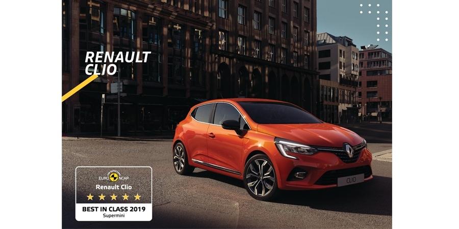 Yeni Renault Clio Euro NCAP tarafından en güvenli süpermini seçildi