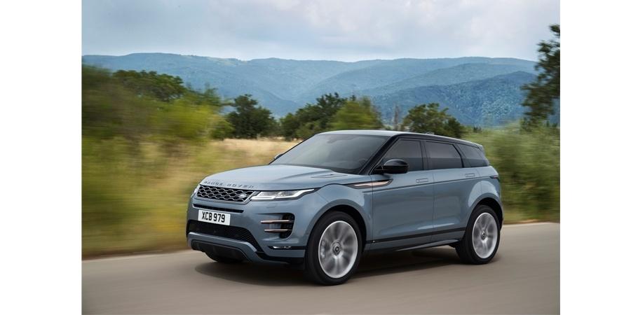 Yeni Range Rover Evoque Borusan Otomotiv Land Rover Showroom'larında