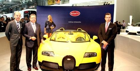 Bugatti Veyron ilk defa Türkiye'de görücüye çıkıyor