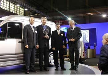 Ford Otosan, Yılın Aracı Ford Transit Connect'i  anlattı...