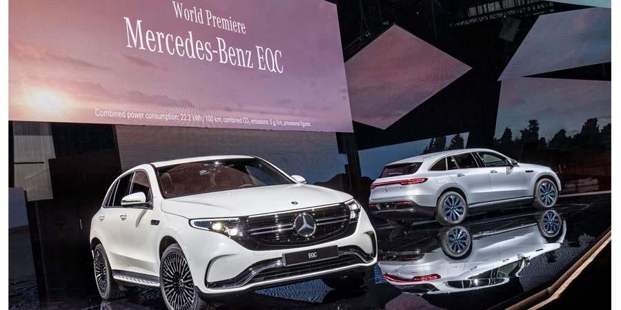 Yeni Mercedes-Benz EQC Stockholm'de dünya prömiyerini gerçekleştirdi