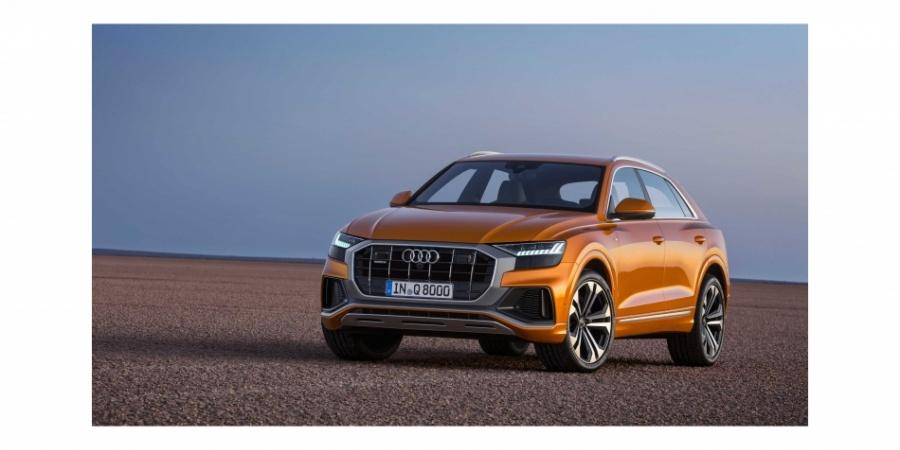 Q ailesinin yeni yüzü: Audi Q8