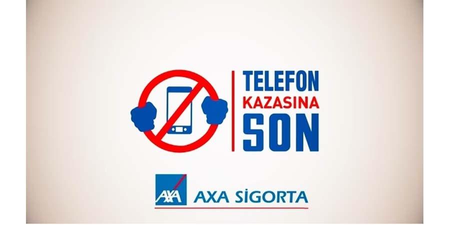 AXA Sigorta Telefon Kazalarına Son Vermeye Kararlı