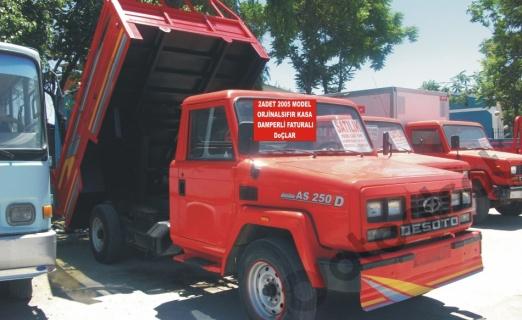 orjinal 2005 model sıfır kasa ankara damperli faturalı doç kamyonet