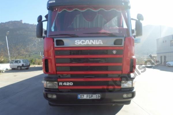 2006 MODEL SCANİA G420 ÇEKİCİ RETARDERLI