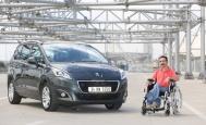 Peugeot'dan engelleri aşan bir otomobil:5008